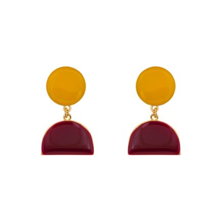 K 478_5 EARRINGS ATELIER PYXIS ENAMEL