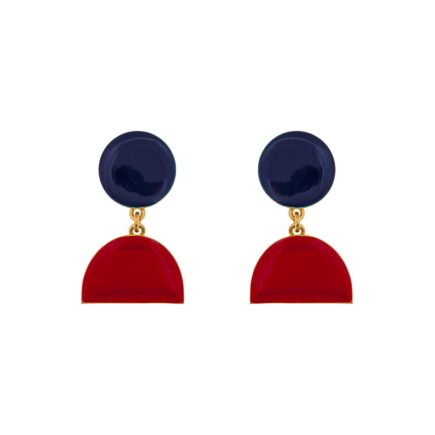 K 478_6 EARRINGS ATELIER PYXIS ENAMEL